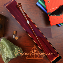 Rufus3.png Download 3MF file Rufus Scrimgeour Wand • 3D printing design, santuli700