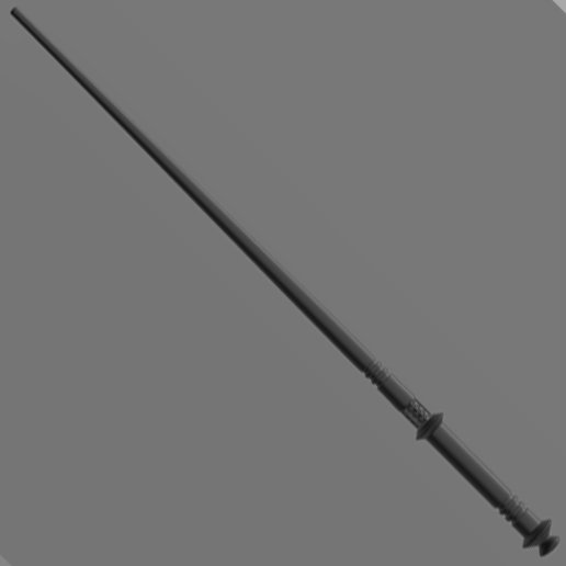 Yaxley.png Download 3MF file Corban Yaxley Sale Wand • 3D printing template, santuli700