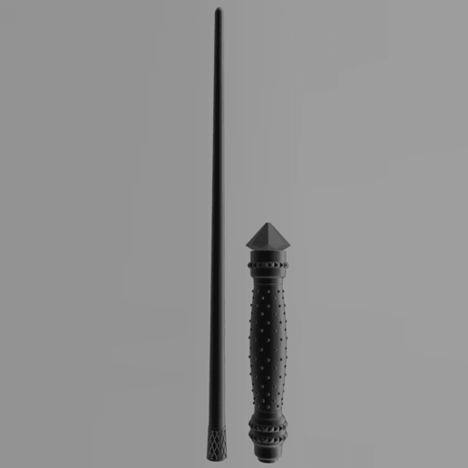 Narcissa5.png Download 3MF file Narcissa Malfoy Sale Wand • 3D print object, santuli700