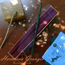 Hermione.jpg Télécharger fichier 3MF Baguette Hermione Granger • Objet imprimable en 3D, C3doprint