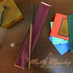 Molly.jpg Télécharger fichier 3MF Baguette de Molly Weasley • Modèle pour imprimante 3D, C3doprint
