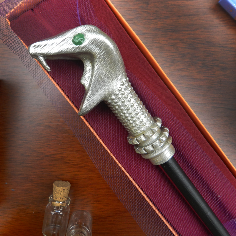 Lucius1.png Download 3MF file Lucius Malfoy Sale Wand • Model to 3D print, santuli700