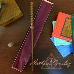Arthur.jpg Télécharger fichier 3MF Baguette d'Arthur Weasley • Objet pour impression 3D, C3doprint