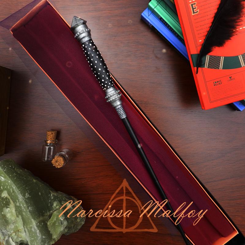 Narcissa.png Download 3MF file Narcissa Malfoy Sale Wand • 3D print object, santuli700