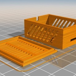 esp32cam case.jpg Download STL file esp32cam case • 3D printable object, triblax