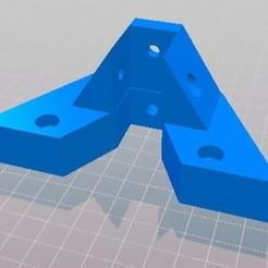 Télécharger objet 3D Delta anycubic kossel 20x20 imprimante murale + fin de course optique supérieur, triblax