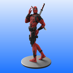 1 - Color.png Download STL file Sexy Deadpool • 3D print design, Selfi3D