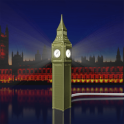 1 - low.png Download STL file BIG BEN - Lamp • 3D printable object, Selfi3D