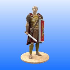 1_Roman_Color.png Télécharger fichier STL Soldat romain • Objet pour imprimante 3D, Selfi3D