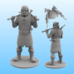Dwalin.png Download STL file Dwalin - The Hobbit • 3D printing object, Selfi3D
