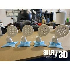 53864571_1274515446056080_7152885427211337728_o.jpg Download free STL file Paddle Racket Trophy • 3D printable object, Selfi3D