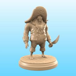 LeChuck.png Download STL file LeChuck - Monkey Island • 3D printing model, Selfi3D