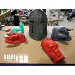 Descargar archivos STL Bracelets for medieval armor, Selfi3D