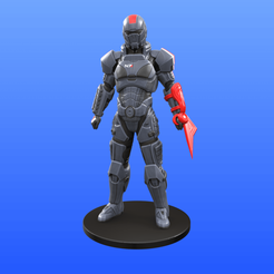 1.png Download STL file Mass Effect - Armor and blade • 3D printing model, Selfi3D