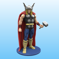 color.png Download STL file Classic Thor • 3D printer template, Selfi3D
