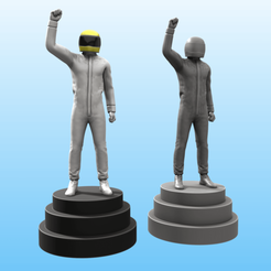 Piloto.png Download STL file Pilot Trophy • 3D printable object, Selfi3D