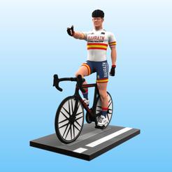 Ciclista_color.png Télécharger fichier STL Cycliste • Modèle pour impression 3D, Selfi3D