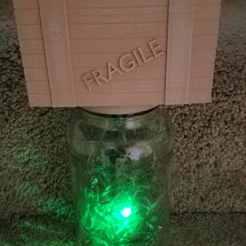 20180423_170613.jpg Télécharger fichier STL gratuit Le bocal de la mouche de feu • Modèle imprimable en 3D, shermluge