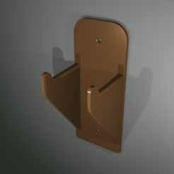 Download free 3D printing files Guitar Hanger (looks good in wood PLA), shermluge