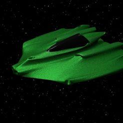 Impresiones 3D gratis Nave espacial de combate cuerpo a cuerpo, shermluge