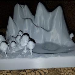 Descargar archivos 3D gratis Cascadas de agua de montaña, shermluge