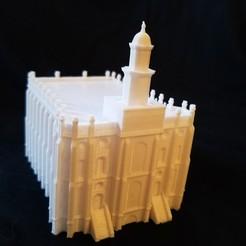 Descargar archivos 3D gratis Iglesia del Templo de San Jorge Utah de Jesucristo de los Santos de los Últimos Días, shermluge