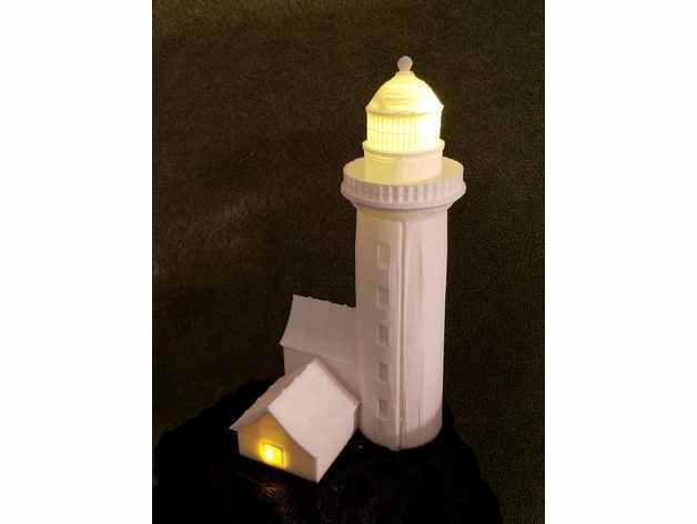 856e0e5d2cf8487b6d3f77c41e53c107_preview_featured.jpg Download free STL file Solar Light House • 3D printing object, shermluge