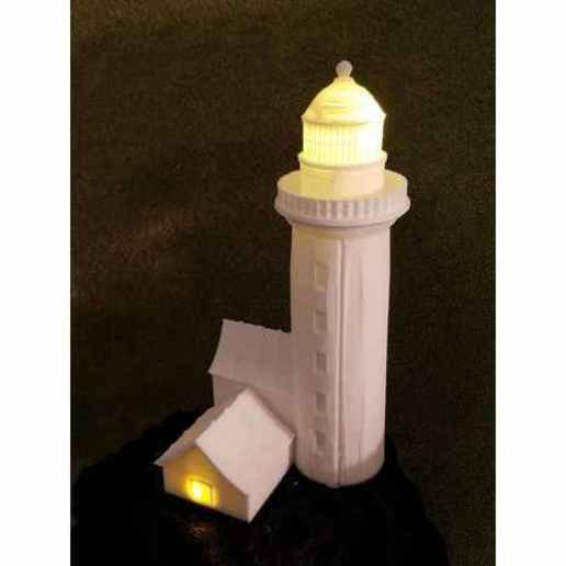 Download free STL Solar Light House, shermluge