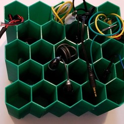 Download free 3D printing files Wire Rack for that odd wire, shermluge