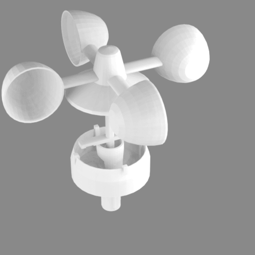 full-v2-no-cover.png Télécharger fichier STL gratuit Indicateur de vitesse du vent - Anémomètre V2.0 • Design à imprimer en 3D, shermluge