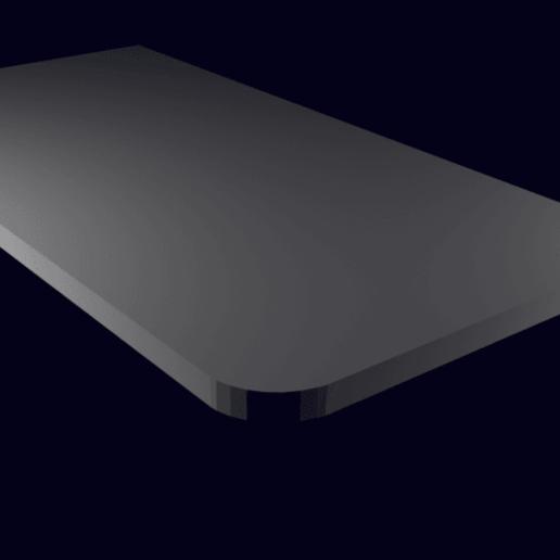 Download free STL file Small low profile shelf 20x10cm, shermluge
