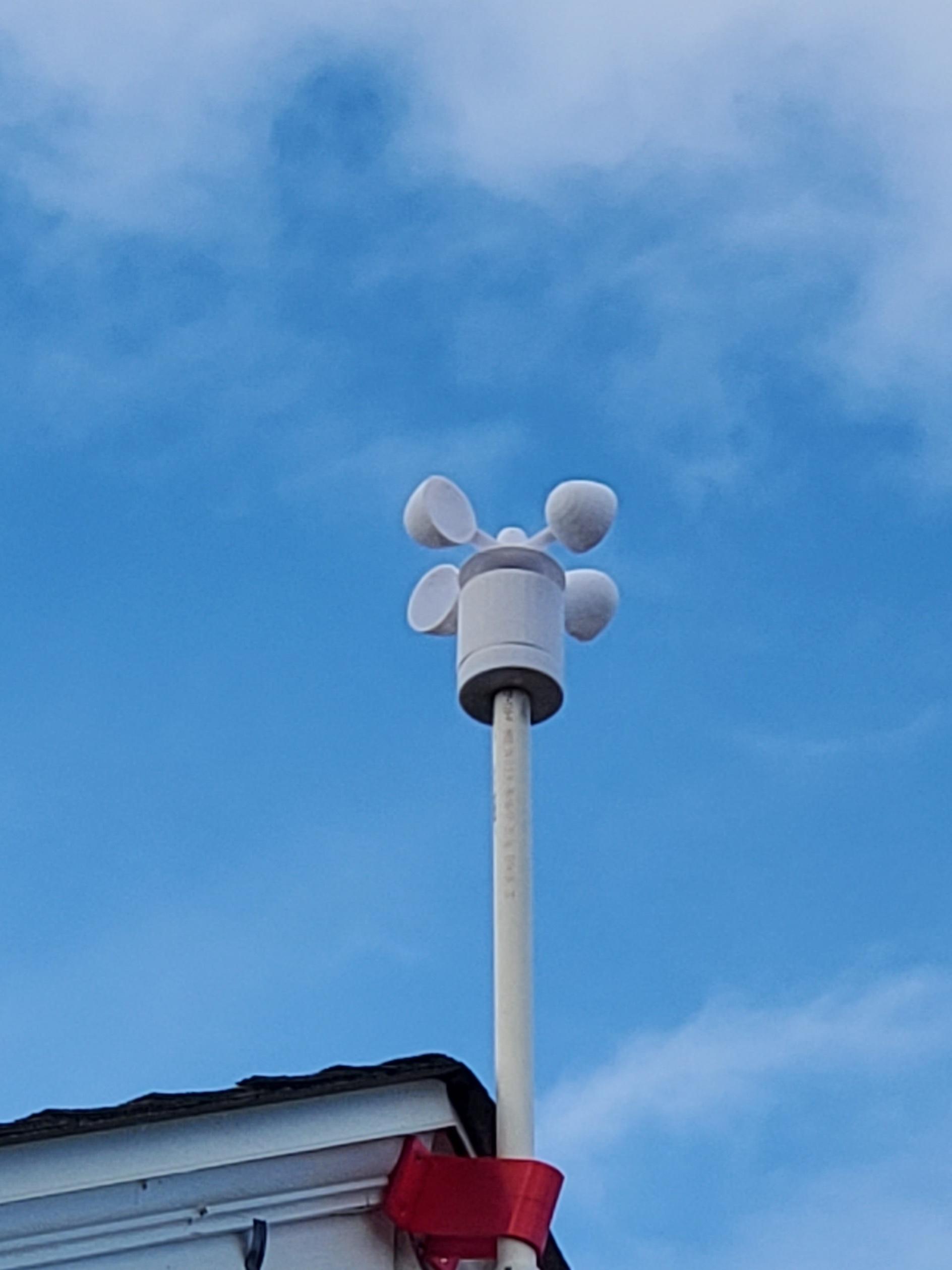 20191224_133359.jpg Télécharger fichier STL gratuit Indicateur de vitesse du vent - Anémomètre V2.0 • Design à imprimer en 3D, shermluge