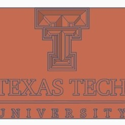 Free 3d model TTU Badge, josephhartman
