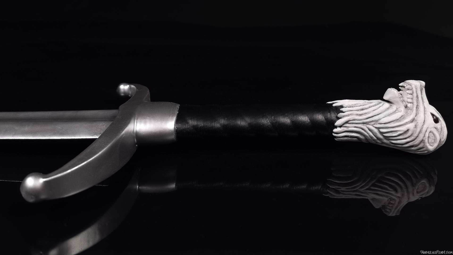 Game of Thrones GOT Longlaw Bastardsword 3D Print.jpg Télécharger fichier STL L'épée de Longclaw - L'épée de Jon Snow de Game of Thrones • Objet à imprimer en 3D, Andreasfendt