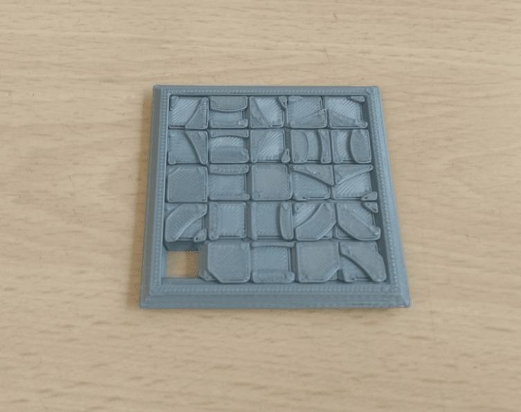 Sliding5x5Puzzle4.png Download STL file Two Sided Sliding Puzzle • 3D printable model, Jinja