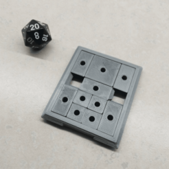 3D printer models Sliding Block Puzzle, Jinja