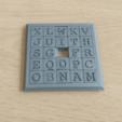 Sliding5x5Puzzle2.png Download STL file Two Sided Sliding Puzzle • 3D printable model, Jinja