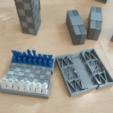 Fichier imprimante 3D Jeu d'échecs de poche, Jinja