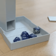 Download STL file Dice Tower and Dice Box • 3D printing design, Jinja