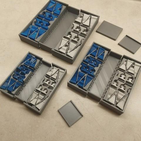 Archivos 3D Set de Ajedrez de Bolsillo, Jinja