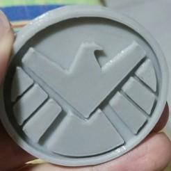 Free STL file S.H.I.E.L.D., Mythoz