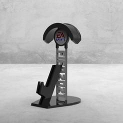 untitled.58.jpg Download STL file JOYSTICK STAND FIFA 21 V2 • 3D printable model, jssgrgrrln