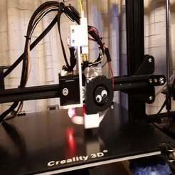 20190904_232316.jpg Télécharger fichier STL gratuit CR10S Titan Aero mount avec BLTouch et Volcano hot end avec capteur de filament • Objet pour impression 3D, benebrady
