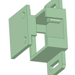 Corception 300 New Z Limit Switch Housing.png Télécharger fichier STL gratuit Montage de l'interrupteur de fin de course Sainsmart Coreception Z Min • Plan à imprimer en 3D, benebrady