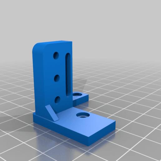 Télécharger fichier STL gratuit Support BLTouch pour le bout chaud de Creality stock avec écrous encastrés • Design pour impression 3D, benebrady