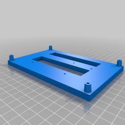 Creality_to_SKR_Pro_1.1_mounting_adapter.png Télécharger fichier STL gratuit Creality à SKR Pro 1.1 et MKS SGen Adaptateurs de montage • Design pour impression 3D, benebrady