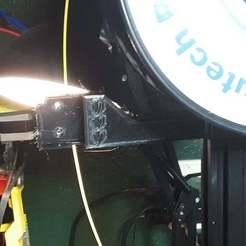 20200409_185657.jpg Télécharger fichier STL gratuit Ender 2 Support de capteur de filament de sortie • Modèle imprimable en 3D, benebrady