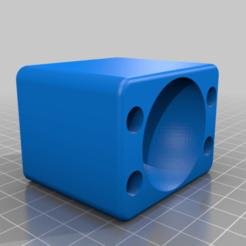 CR10S_Squash_Ball_foot.png Télécharger fichier STL gratuit CR10 / CR10S Squash Ball Foot • Design imprimable en 3D, benebrady