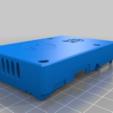 Télécharger objet 3D gratuit Affaire Framboise Pi B+ avec fente en V pour Creality Ender 3 et Ender 3 Pro, benebrady