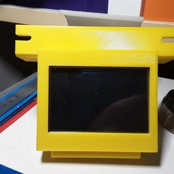 Download 3D print files Raspberry Pi 3.5 inch touch screen mount for Ender 5/Pro/Plus, benebrady